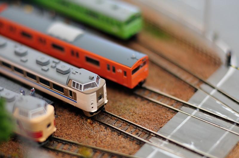 鉄道模型の塗り直し